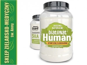DiatoNat Human  Diatomaceous earth 200g Natural Diatoms