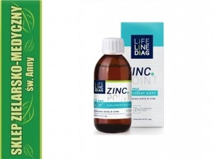 Zinc.Point Cynk w płynie 40g  LifeLineDiag