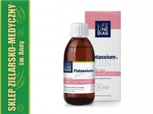 Potassium.Point Potas Potassium in liquid 100g LifeLineDiag