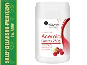ACEROLA 250g NATURAL VITAMIN C 250 portions