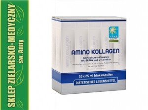 AMINO-KOLAGEN 10 LIFE LIGHT ampoules Collagen + Vitamin B + L-Carnitine